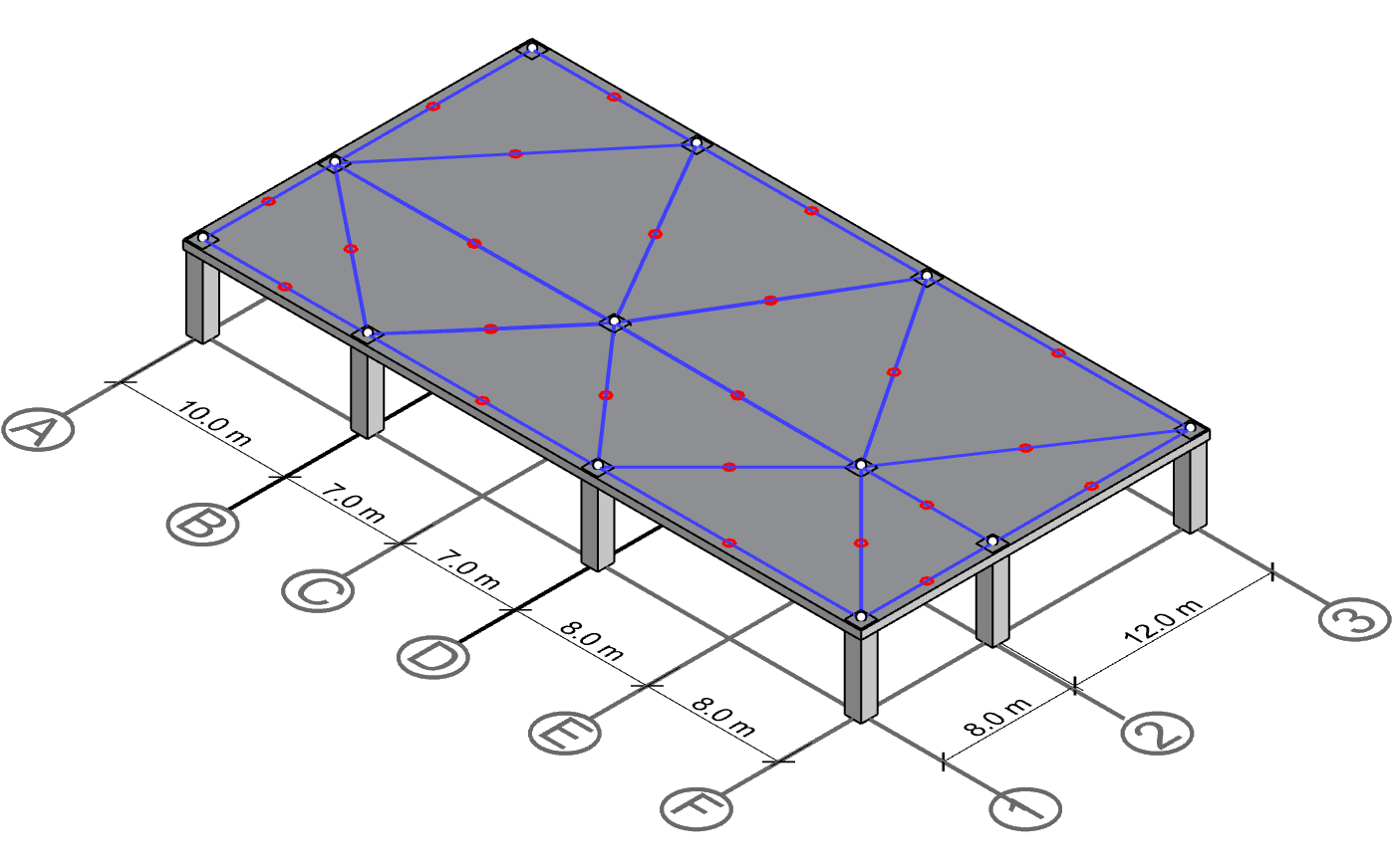 The mid point is identified on each connectivity line.