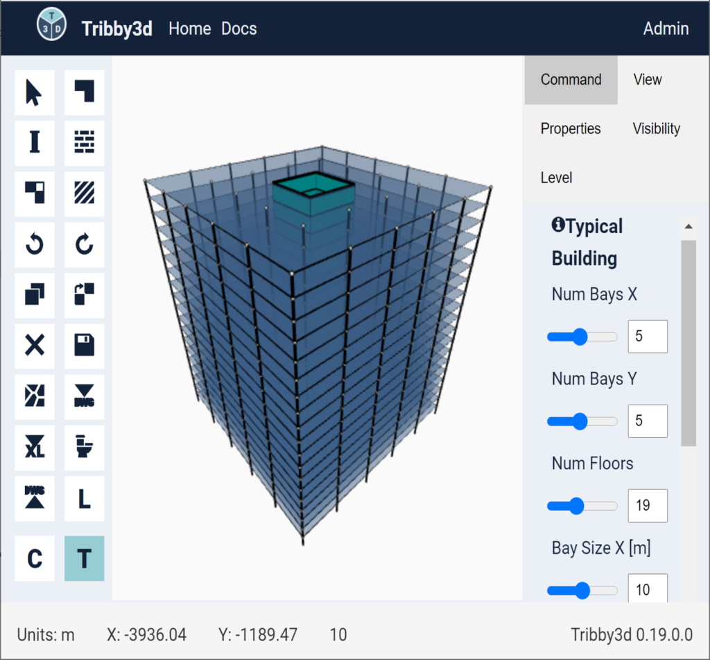 parametric building designer in Tribby3d